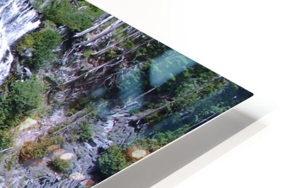 Narada Falls at Mount Rainier Pacific Northwest HD Sublimation Metal print