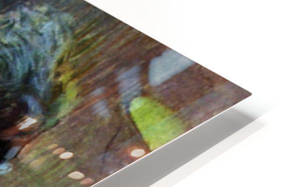 Resting Model by Toulouse-Lautrec HD Sublimation Metal print