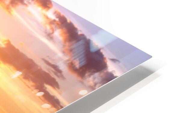 Golden Hawaii HD Sublimation Metal print
