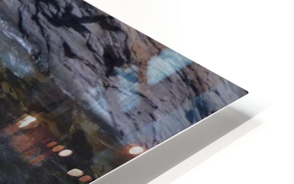 Swirling Blue Seas HD Sublimation Metal print