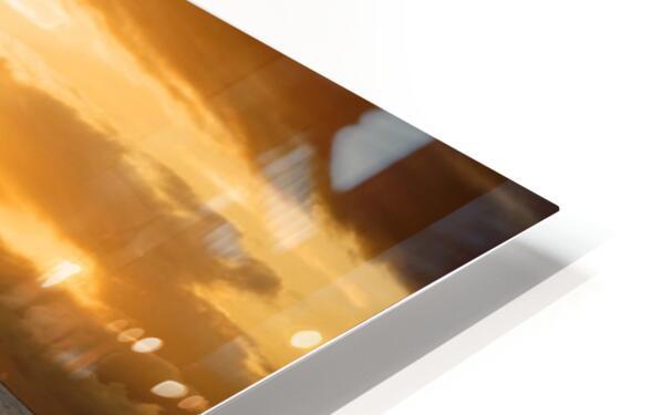 Dusk HD Sublimation Metal print