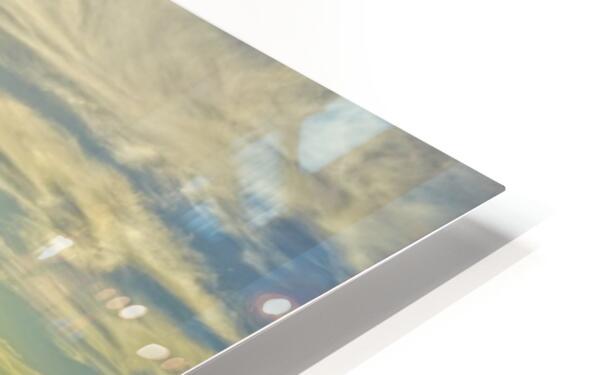 Swirl HD Sublimation Metal print