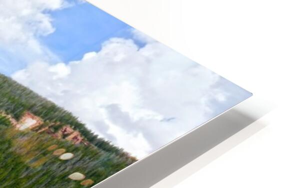 Rocky Mountain Reflections HD Sublimation Metal print
