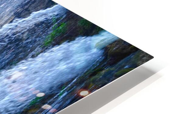 Standing in the Waterfalls HD Sublimation Metal print