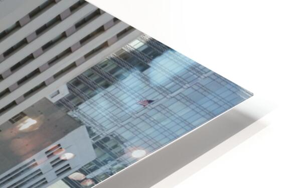 Snapshot in Time @ San Francisco Financial District HD Sublimation Metal print