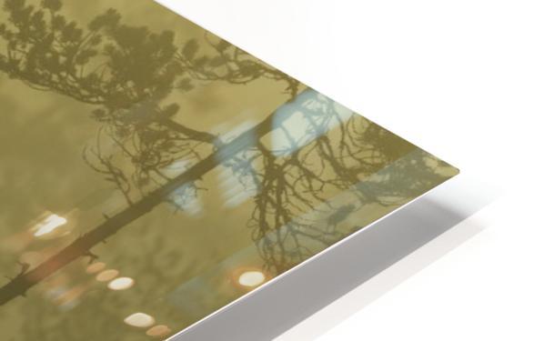 Morning Fog HD Sublimation Metal print