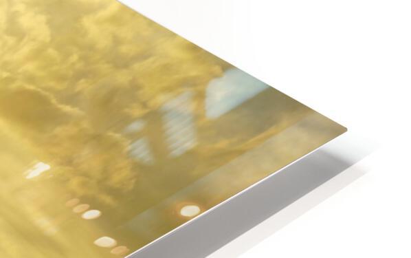 Golden Mont St Michel - Normandy France HD Sublimation Metal print