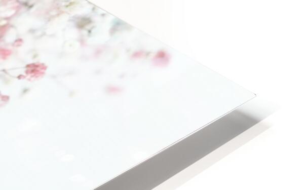 Daltana Pastel Floral Ceiala HD Sublimation Metal print
