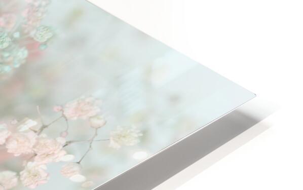 Daltana Pastel Floral Bina HD Sublimation Metal print