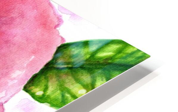 Magnificent Rose HD Sublimation Metal print