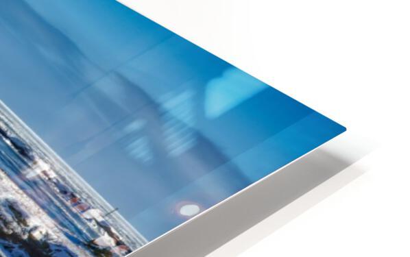 Pointe Saint-Pierre et lIle Plate HD Sublimation Metal print
