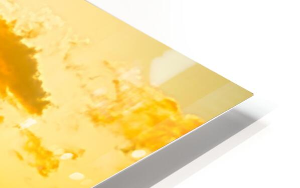Golden Moment - Sunset Hawaiian Islands HD Sublimation Metal print