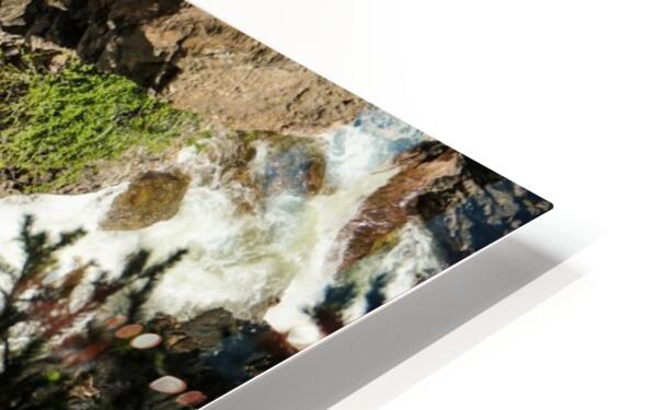 Rocky Mountain Rapids and Waterfalls 4 of 8 HD Sublimation Metal print