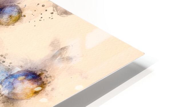 Tasty Mushroom Abstract HD Sublimation Metal print