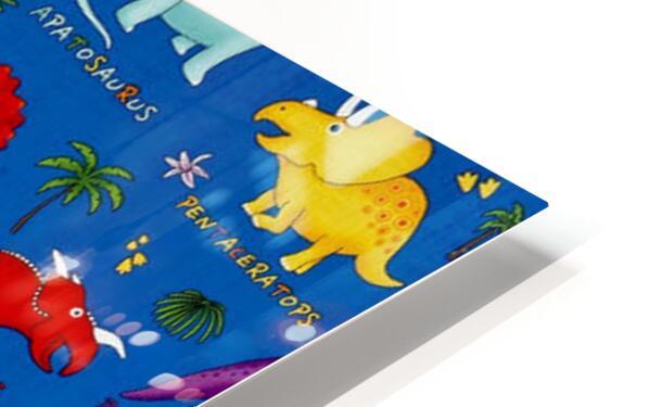 Dinosaurs Royal-Multi HD Sublimation Metal print
