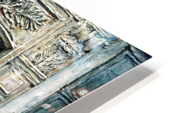 Parisian Door N0. 5-3 HD Sublimation Metal print