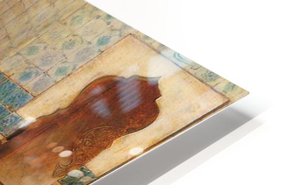 The harem bath HD Sublimation Metal print