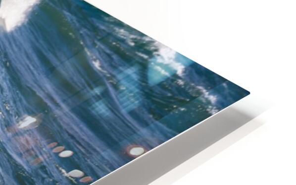 Wave Curl ap 2663 HD Sublimation Metal print