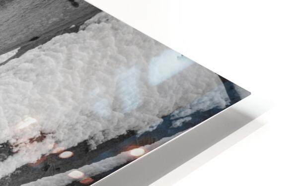 Beech ap 2044 B&W HD Sublimation Metal print