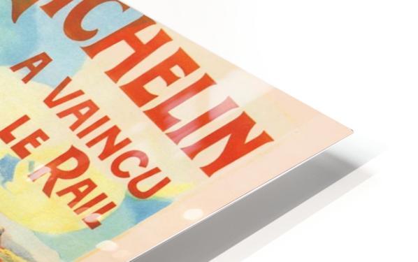 Le Pneu Michelin a vaincu le rail Impression de sublimation métal HD
