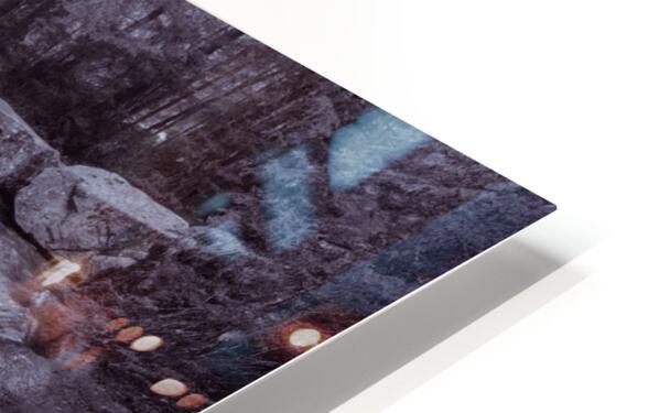 The Basin ap 2162 B&W HD Sublimation Metal print