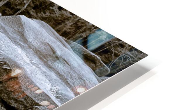 Waterfall ap 2212 B&W HD Sublimation Metal print