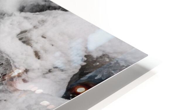 Ice ap 2726 B&W HD Sublimation Metal print
