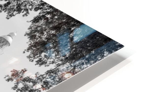 Negril Lighthouse ap 1516 B&W HD Sublimation Metal print