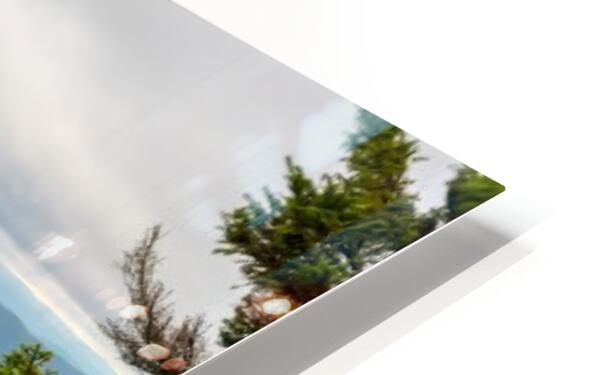 Bear Rocks apmi 1656 HD Sublimation Metal print