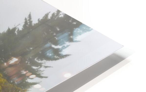 Trail Entrance apmi 1840 HD Sublimation Metal print