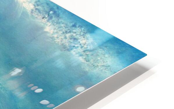 Infinity Beyond The Blue HD Sublimation Metal print
