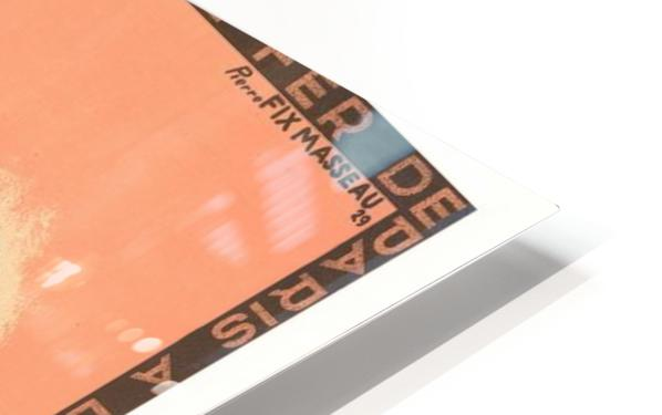 Cote D'Azur Pullman Express HD Sublimation Metal print