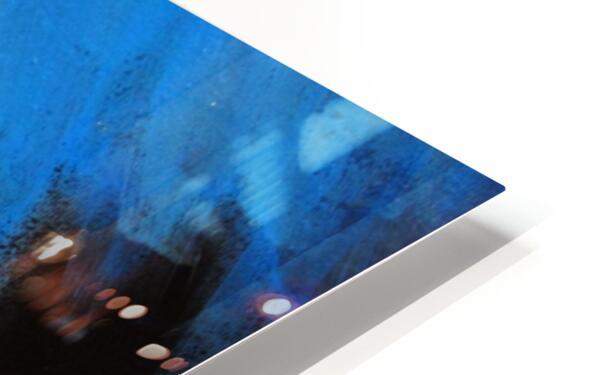 Midnight Blue  HD Sublimation Metal print