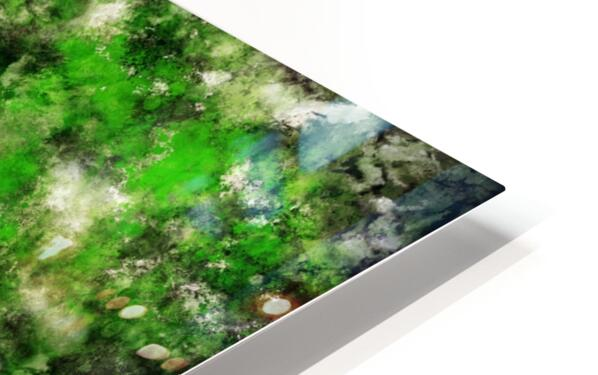 Green noise HD Sublimation Metal print