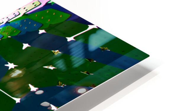 Vaulted Rainbow HD Sublimation Metal print