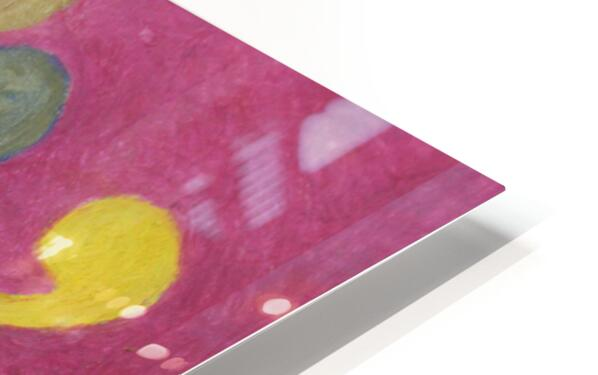 Pink Abstract HD Sublimation Metal print