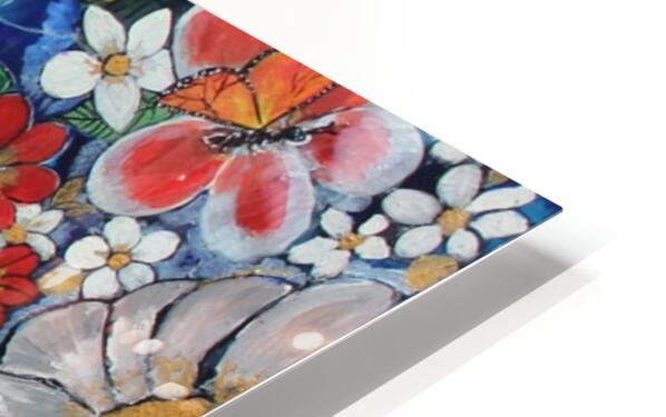 Touch Of life  HD Sublimation Metal print