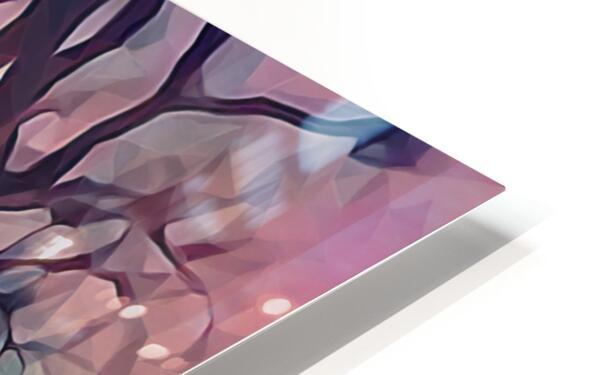 winter sky lavender HD Sublimation Metal print