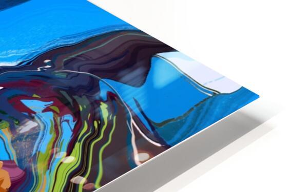 Blue Monaco HD Sublimation Metal print