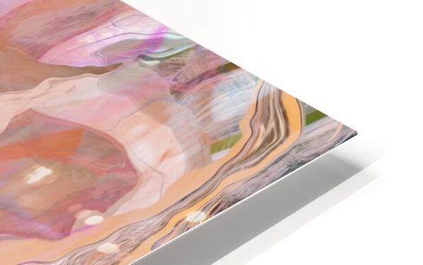 Patterns in Mauve and Orange HD Sublimation Metal print