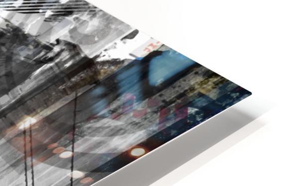 New York City Geometric Mix No. 9 HD Sublimation Metal print