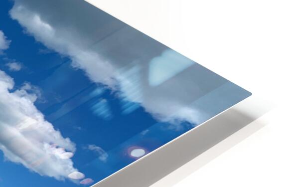 My Blue Heaven HD Sublimation Metal print