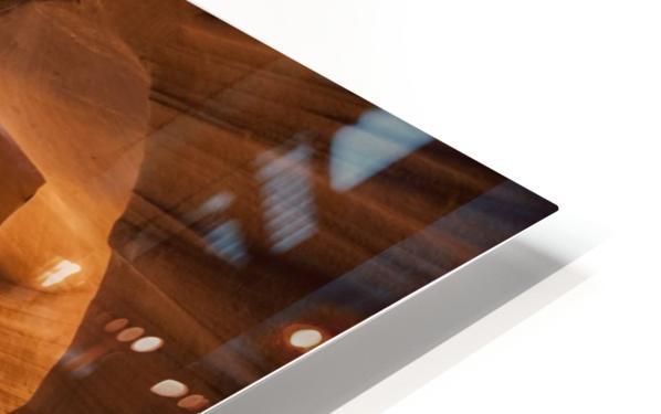 ANTELOPE CANYON Gorgeous Light Beam HD Sublimation Metal print