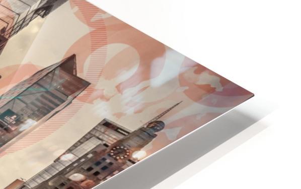 New York City Geometric Mix No. 4 HD Sublimation Metal print