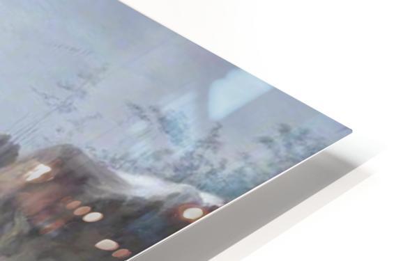 Snowy Landscape HD Sublimation Metal print