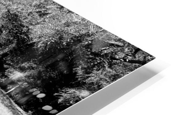 Public bench  Impression de sublimation métal HD