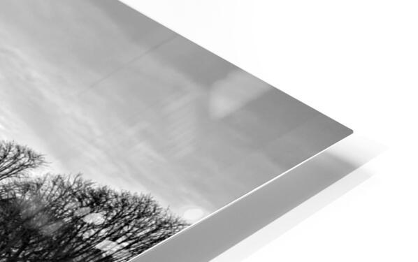 Ile de la Cite flood Impression de sublimation métal HD