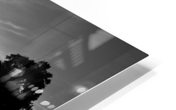 Tuileries reflection Impression de sublimation métal HD