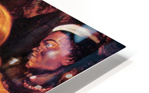 Toilette of Venus by Rubens HD Sublimation Metal print