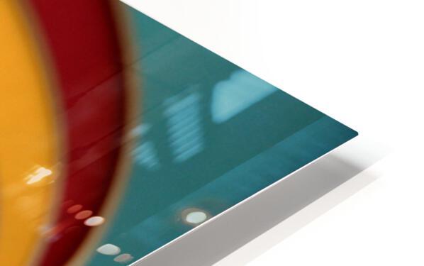 Absorbed-in-Ocean HD Sublimation Metal print